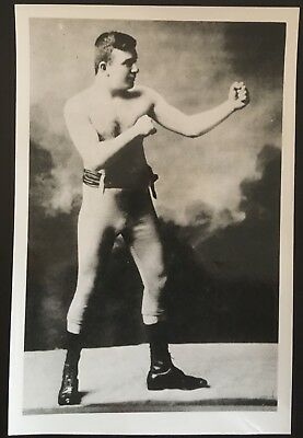 Lovely Photograph Of The Legendary Featherweight Champion Young Griffo In Pose!!