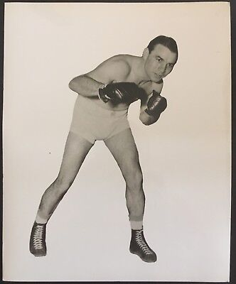 Nice Photograph Of The Great Middleweight Champion Ken Overlin In Pose!!