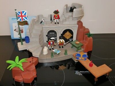 Playmobil 5139 Piraten Soldatenfestung mit Schatzverlies ... GUT