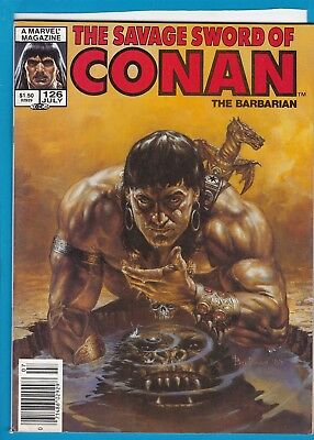 The Savage Sword Of Conan #126_July 1986_Very Fine Minus_Marvel Sword & Sorcery!