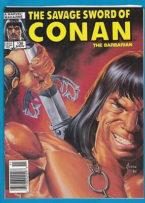 The Savage Sword Of Conan #130_November 1986_Very Fine_Marvel Sword & Sorcery!