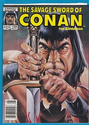 The Savage Sword Of Conan #139_August 1987_Very Fine_Marvel Sword & Sorcery!