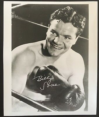 Lovely Portrait Photograph Of The Great Middleweight Champion Billy Soose!!