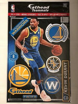96385e7d40b1 Kevin Durant Golden State Warriors 2018 Fathead Teammate Wall Decal 9x16