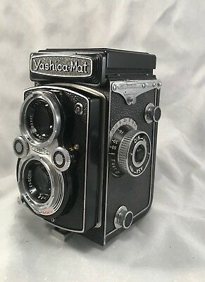 Yashica-Mat Tlr Twin Lens Film Camera ~ For Parts
