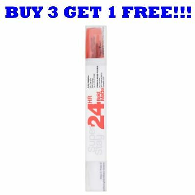 Maybelline Lipgloss Superstay 24H Bold Matte Fire Corail 815