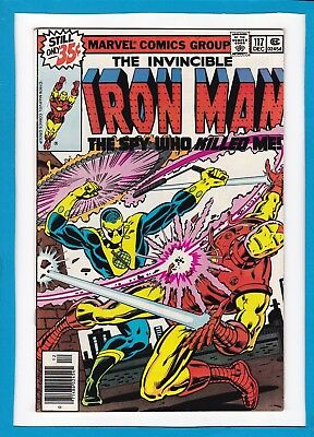 """Invincible Iron Man #117_December 1978_Very Fine+_""""the Spy Who Killed Me""""!"""