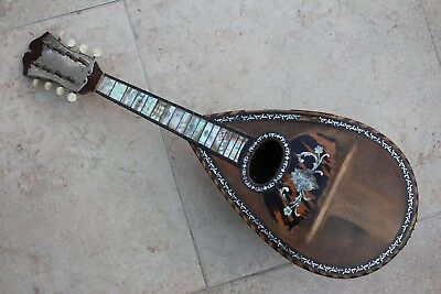 Beautiful Old Mandolin By Carlo Rinaldi, Naples