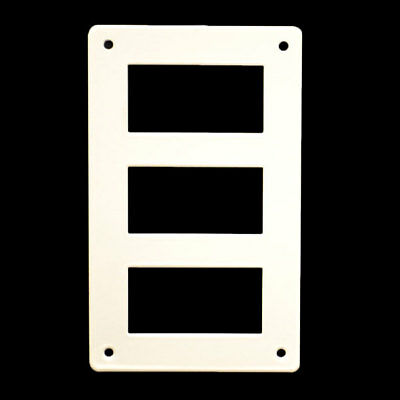 Carver/Marquis 5765878 Aluminum Boat Sw L-Series G3 Switch Panel (Single)