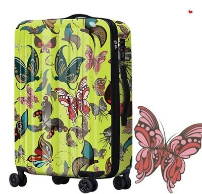 E201 Classical Style Universal Wheel ABS+PC Travel Suitcase Luggage 28 Inches W
