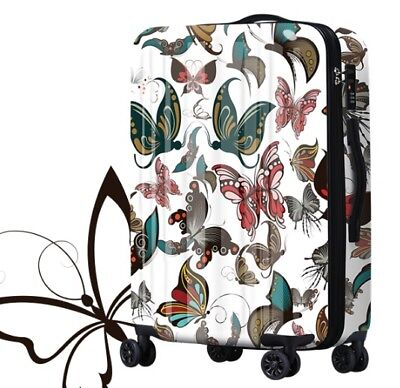 E205 Classical Style Universal Wheel ABS+PC Travel Suitcase Luggage 20 Inches W