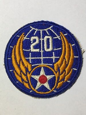 US ARMY AIR FORCES PATCH - WORLD WAR ll