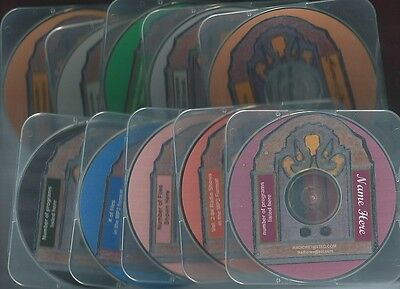 CAVALCADE OF AMERICA 11 mp3 cd 739 Dramatic Radio Shows + cases top stars  OTR