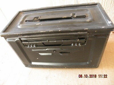 Ammo Can US Army Military  50 Cal Ammunition Metal Storage
