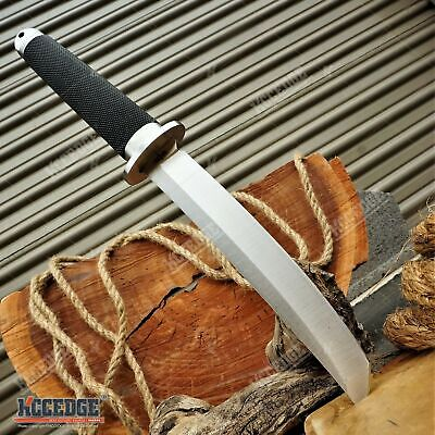 """12.5"""" SAMURAI STYLE TANTO FIXED BLADE KNIFE MILITARY Knife SURVIVAL CAMPING GEAR"""