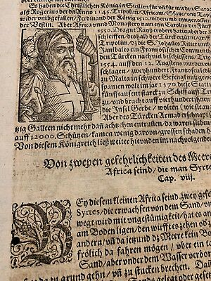 Antique Book Page. Crusades. N Africa And Syria Description