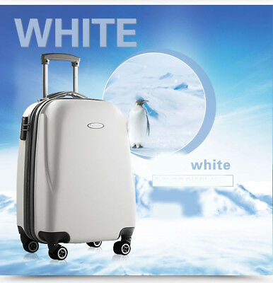 E11 Convenient Business Travel ABS Draw Bar Suitcase Luggage 24 Inches W