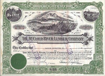 Stk-McCloud River Lumber Co. 1957 Vig of Mt Shasta, CA See ALL images