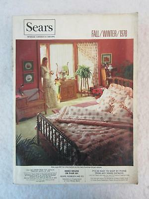 Vintage 1978 SEARS Catalog Fall / Winter 1,564 Pages of those 70s Styles!