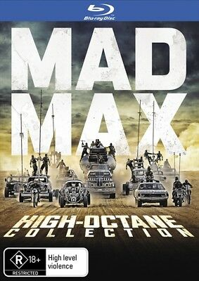 MAD MAX 1 2 3 4 : High-Octane Collection : NEW Blu-Ray