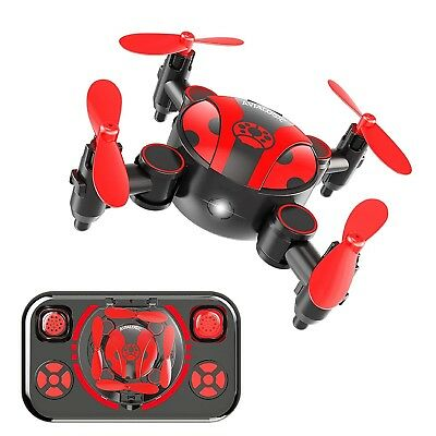 RC Mini Drone for Kids and Beginners Portable Pocket Quadcopter with Altitude Ho