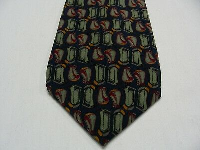 J. Garcia - Red Room - Collection Six - Made In Usa - 100% Silk Neck Tie!