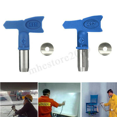 4 Series Portable Nozzle Airless Paint Spray Gun Tip Kit For Wagner Sprayer