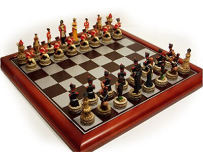 NEW IN BOX Veronese Waterloo Cast Resin Chess Pieces - Board NOT Included