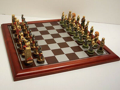 NEW Veronese Crusaders Chess Pieces Board NOT Included