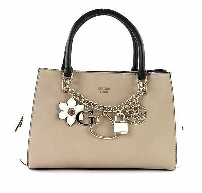 GUESS JOLEEN GIRLFRIEND Satchel Handtasche Tasche Stone