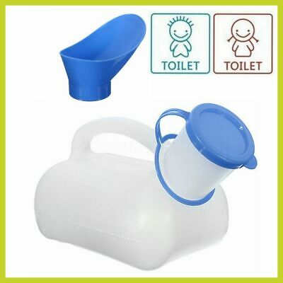 1000ML Outdoor Urine Bottle Male Mens Pee Urinal Storage Camping Portable Car