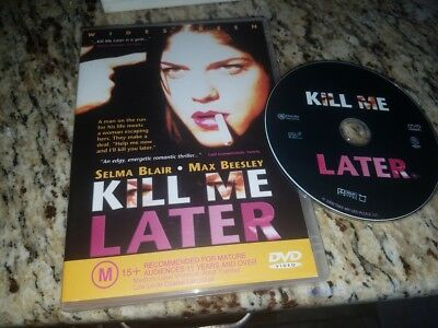 Kill Me Later Region 4 DVD