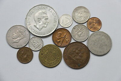 Zambia + South Africa Silver & Other African Coins Lot A98 Wn24