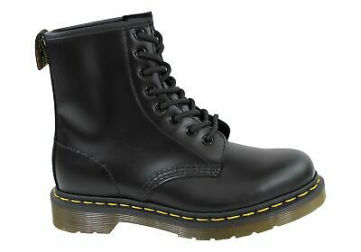 New Dr Martens 1460 Black Smooth Unisex Leather Lace Up Fashion Boots