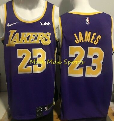 low priced 19d8a 198e2 LEBRON JAMES LOS Angeles LAKERS Nike WISH White ASSOCIATION ...