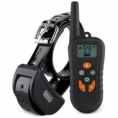 HAOLIXIN Dog Training Collar with Remote Reflective Collar Strap 1450ft Dog Shoc