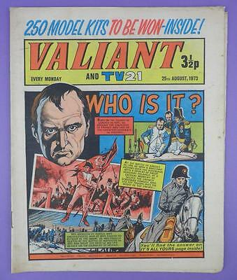 Valliant And TV21 Comic 25th August 1973, Napoleon On Cover