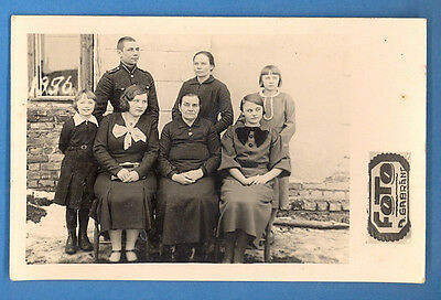 Latvia Lettland Soldier And Friends Vintage Photo Pc. 2728