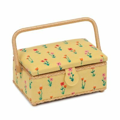 Meadow Small Rectangle Sewing Box | 16 x 24 x 11cm | HGSR-464