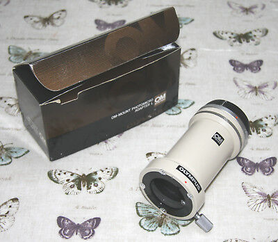 """Olympus Microscope Photo Tube """"L"""" for OM System on BH2 etc. - Excellent"""