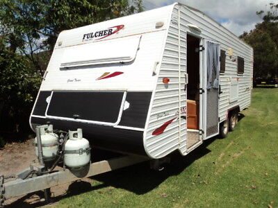 Fulcher Galaxy Grand Tourer 2007 caravan 21ft,FULL ENSUITE,ON PPSR,OFFGRID SOLAR