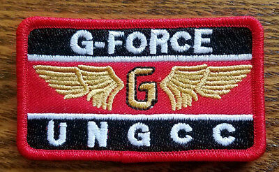 Godzilla G-Force UNGCC Rectangle  Patch 3  inches wide