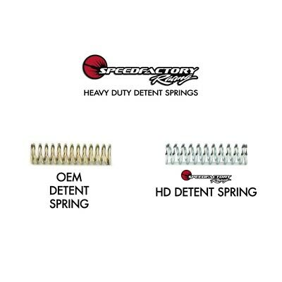 Speedfactory Racing D/K Series Hd Detent Spring Kit