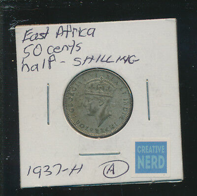 East Africa - 50 Centavos 1937-H #a Lot