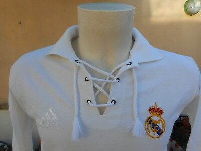 Maglia Calcio Real Madrid 1926 Home Adidas S Shirt Jersey Trikot Camiseta 0291