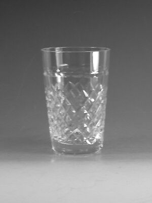 "STUART Crystal - HARDWICKE Cut - 5oz Tumbler Glass / Glasses - 3 5/8"" (2nd)"