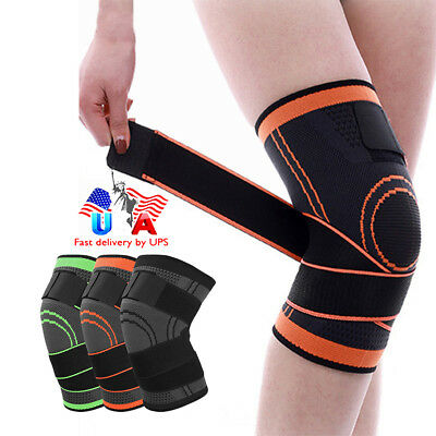 New Patella Knee Strap Support Tendon Brace Relieve Pain Running Sports Bandage