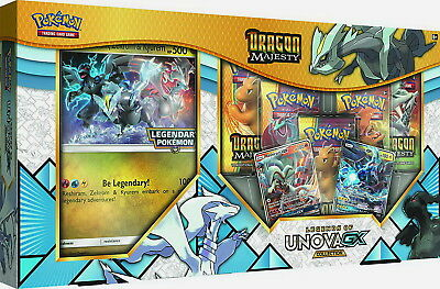 Pokemon TCG: Dragon Majesty Legends of Unova GX Collection :: Brand New And Seal