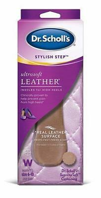NEW Dr. Scholl's Stylish Step Leather Insoles for High Heels