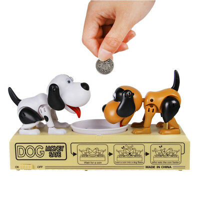 New!! Money Storage Toy Puppy Offensive Defensive Kids Desktop Double Game Gift